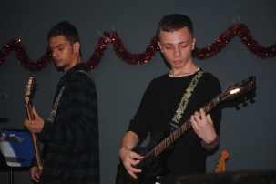 """Let's rock"" Christmas party"